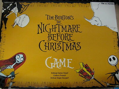 Neca 2004 The Nightmare Before Christmas Board Game Tim Burton Complete Rare