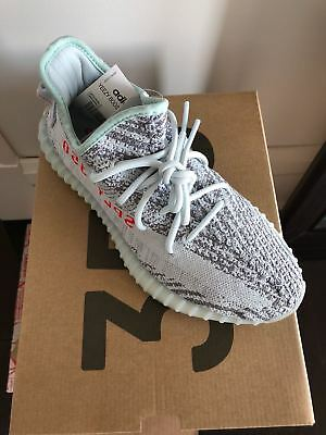 8e3047caa3d ADIDAS YEEZY BOOST 350 V2 Blue Tint Grey Sneakers Men s Size 8 ...