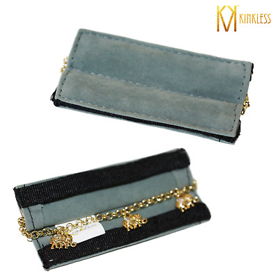 No Tarnish & Tangle Free Bracelet Carrier Case & Cleaning Cloth | Kinkless