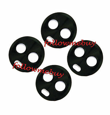 4pcs*Rear Camera Glass Lens Cover For Motorola Moto X4 XT1900-07 XT1900-06 Black