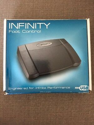 NEW Infinity IN-USB-2 USB Foot Control Switch Dictation Transcription NIB