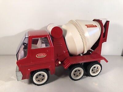 Vintage 1970 TONKA CEMENT MIXER TRUCK Pressed Steel Large Excellent Condition c8
