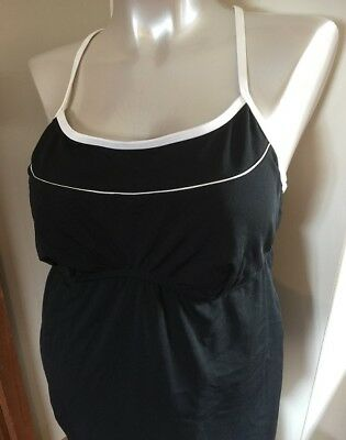 Ilant Maternity Swimwear - tankini two piece size 18