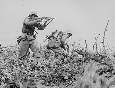 "Marines during the Battle of Okinawa 8""x 10"" World War II WW 2 Photo Picture #7"