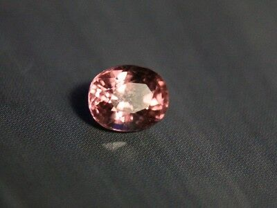 1.39ct Peach / Pink Mahenge Garnet - Precision Custom Cut Cushion