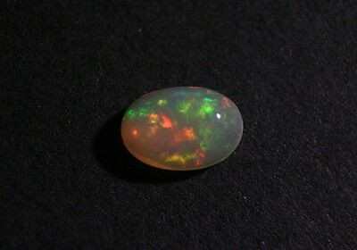 2ct Welo Crystal Opal Cabochon - Rainbow Fire AAA Jelly Opal - See Video