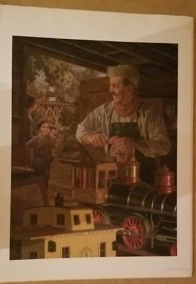 """Bob Byerley """"Walt's Magic Barn"""" Ltd. Edition Lithograph Signed and Numbered COA"""