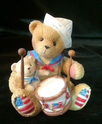 Cherished Teddies Gregory #105685 - From Sea To Shining Sea, You Are The One...