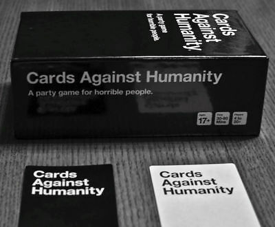 Cards Against Humanity & 1 2 3 4 5 6 Expansion Cards For Choice Party Cards Game