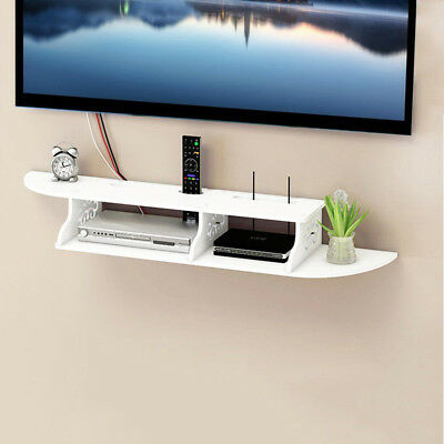 Floating Chic Wall Mounted Shelf Chic for CD TV DVD Book Display Storage Modern
