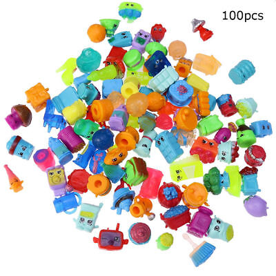 NEW 100x Rondom Lot of Shopkins of Season 1 2 3 4 5 6 Toys Kids Gift Figures