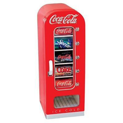 Koolatron Coca-Cola Retro Vending Mini-Refrigerator