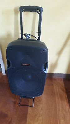 portable PA sound system amplifier wirless- used