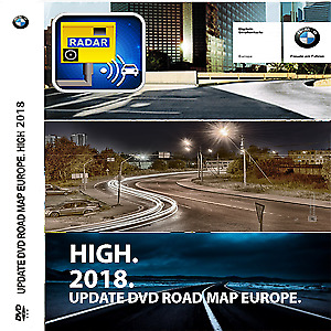 (NEW) Bmw Road Map Europe High 2018+Aggiornamento Firmware V32 M-Sport(Download)