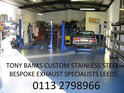 Mercedes Slk Stainless Steel Exhaust Lifetime Guarantee Tony Banks Exhausts