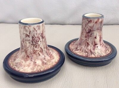 Jersey Pottery - Candle Stick Holders