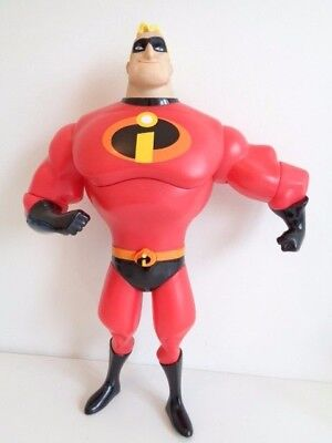 "DELUXE MR INCREDIBLE 14"" ACTION FIGURE with SOUNDS AND MOUTH MOVEMENTS"