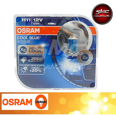 DUOBOX 2x OSRAM H11 COOL BLUE INTENSE 4200K +20% 64211 CBI