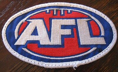2000s AFL Oval Sew On Logo Patch Badge for Guernsey Jersey Jumper