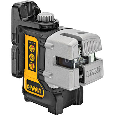 DeWalt 3-Way Self-Levelling Ultra Bright Multi-Line Laser DW089 BARE UNIT