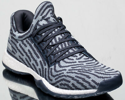 d43c79ff8 adidas Harden Vol. 1 LS Primeknit men shoes new raw steel ash grey red  AC8408