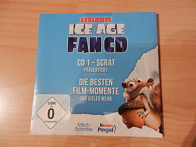 Exklusive ICE AGE Fan-CD CD 1 - Scrat *Neu