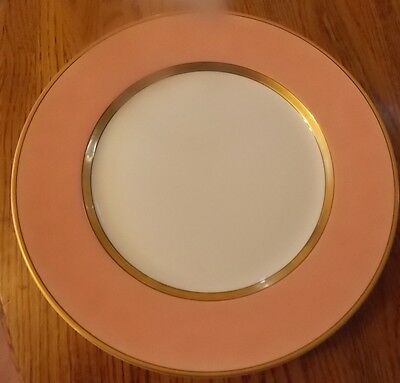 1-Fitz And Floyd 12 Inch~Peach~ Service Plate/charger (S) Excellent!