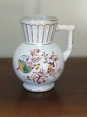 Antique Knowles Taylor & Knowles IRONSTONE Aesthetic Jug Pitcher