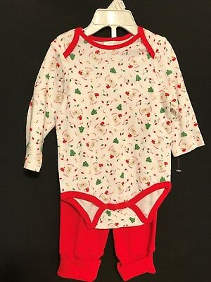Baby First Christmas Infant Outfit 2 Piece Size 3-6 Months New