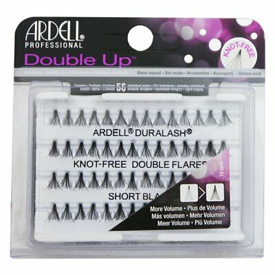 Ardell Double Up Knotfree Short Lashes Black Echthaar Wimpern Büschel