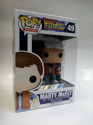 Funko POP Movies Back to the Future Marty McFly Vinyl Figure #49