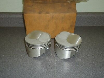 New TRW Piston DRE-23 Dome 4.030 Small Block Chevy Chevrolet SBC Lot (2) Pistons