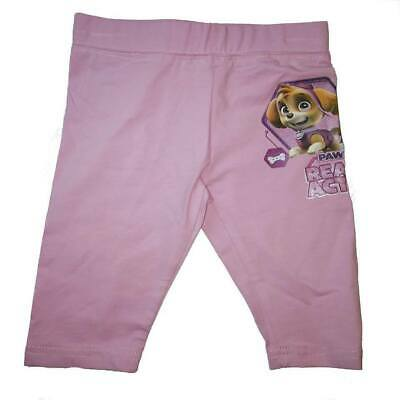 Paw Patrol Leggings Skye Cropped Pink Blue age 4 5 6 years pedal pushers