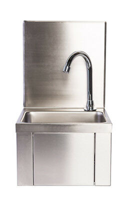 Commercial Knee Operated Sink ideal for Restaurant/Take Away/Pub/Catering/Hotel