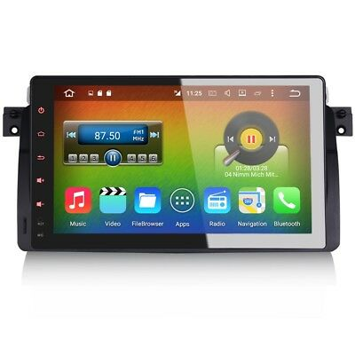 "9 "" Android 6 SAT NAV BLUETOOTH DAB Radio GPS USB WiFi STEREO pour Rover 75 & MG"