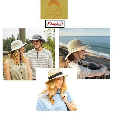 Solar Escape UV Women s Grasslands Hat   Men s Outback Hat Adjustable NWT dbc60b63715b