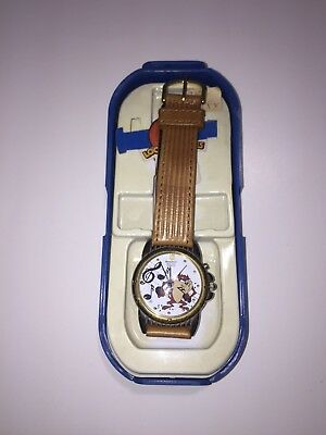 Vintage 1992 Armitron Warner Brothers Taz Tasmanian Devil Looney Tunes Watch NEW