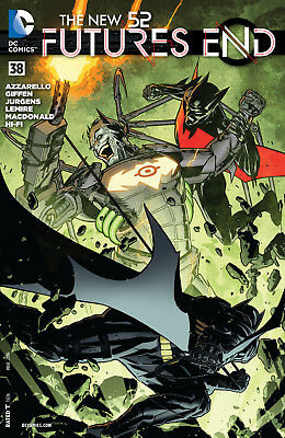 DC comics Futures End issue #38