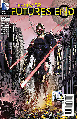 DC comics Futures End issue #40