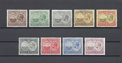 BERMUDA 1920 SG 59/67 MINT Cat £110