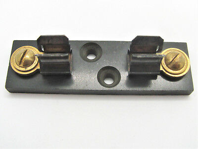 """1 Pole Fuse Block for 1/4"""" x 1 1/4"""" Fuses - Bussmann 4513 *NEW OLD STOCK!*"""