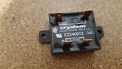 Crydom EZ240D12 Input DC3-15V,  Output 240vac 12A Solid State Relay