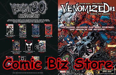 Venom 30Th Anniversary Web Venom Double-Sided Board (2018) 1St Printing