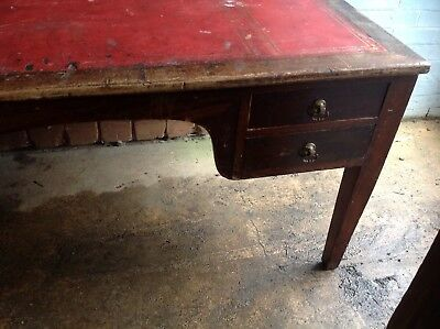 Solid Wooden Old writing Desk dated 1939