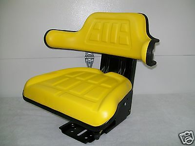 Suspension Seat John Deere Tractor Yellow 5200, 5210, 5300, 5310, 5400,5410 #ie