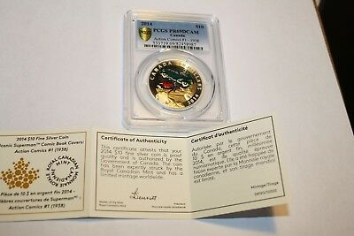 Action 1  Rcm:::2014 Silver Coin Pcgs Ms 69:::with  Original Box And Coa