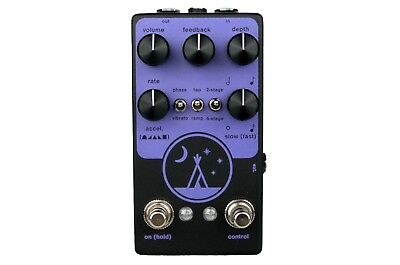 Red House Electronics Midnight Analog Phaser Vibrato Guitar Pedal