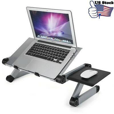 Lap Desk Folding Laptop Notebook Adjustable Table Stand Tray For Home Bed Sofa