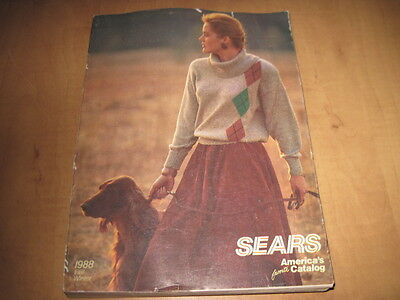 Vintage Sears 1988 Fall & Winter Catalog