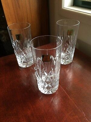 Waterford Brookside Crystal High ball Tumbler, 3 Available